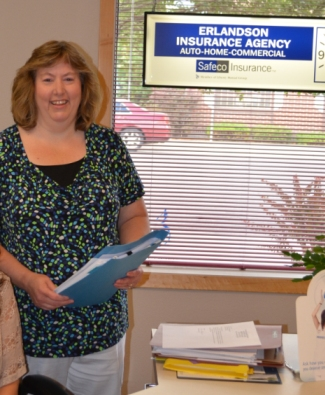 Erlandson Insurance Owner and Agent Anna Erlandson